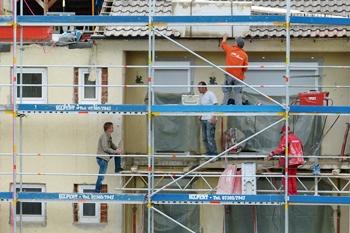 Versicherungen rund ums Bauen bieten Schutz in allen Bauphasen
