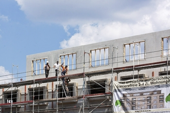 Baukonjunktur - Bauboom hält weiterhin an