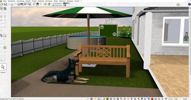Haus und Garten online planen