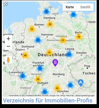 Baudienstleistungen finden - deutschlandweit und in ihrer Region
